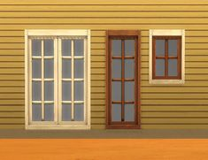 Mod The Sims - Mega (Double Budget Grand Deluxe Delite) Window Add-Ons