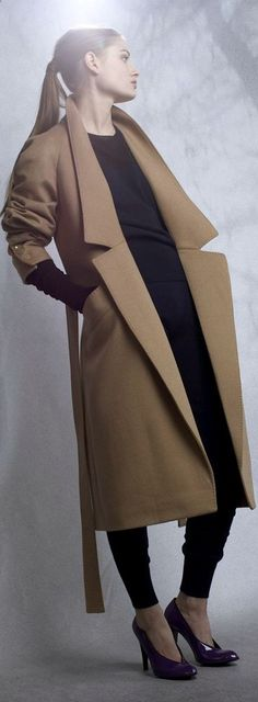 Stella McCartney Camel Coat - classic : oh my gosh what a gorgeous coat. Oh to be tall!