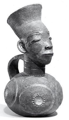 Mangbetu Terracotta Vessel, DR Congo
