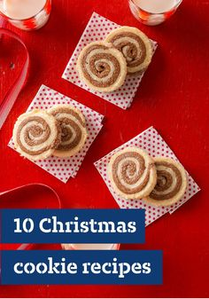 10 Christmas Cookie Recipes — There are lots of ways to make Christmas merry—and making edible homemade gifts of Christmas cookies is one of the sweetest!