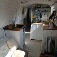 Beach hut boat