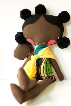 Beautiful African Doll, what a preciousdoll for a little Ethiopian Sweetheart! @Tracy Harrod (add this to your list ha!)