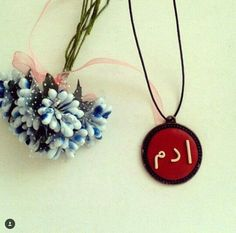 Polymer clay Necklace  Polimer kil arapca kolye #polymer #clay #Necklace #red #kolye #polimer #kil