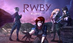 """Thank you all for your support!After an exhausting battle, Ruby and her team helps the remaining soldiers and inspires them.Ruby Rose:""""This battle was t. Rwby Anime, Rwby Fanart, Rwby Raven, Guerra Anime, Rwby Blake, Rwby Bumblebee, Valkyria Chronicles, Team Rwby, Rwby Characters"""