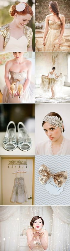Glittering Wedding Ideas