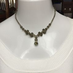 """Smokey Taupe Austrian Crystal 16"""" Necklace w/Ext BRAND NEW & BEAUTIFUL Smokey Taupe Austrian Crystal Beaded Y Necklace. 16"""" in Length. Matching Bracelet & Fishhook earrings also posted. Comes in beautiful gift box. RETAIL $50 Austrian Crystal  Jewelry Necklaces"""