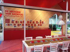 Experience center De Fietser, Batavus, timeline, brand experience - by DST