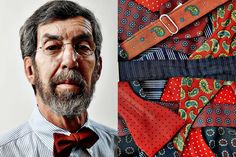 My One Thing Is My Signature Bow Ties - Peter Swerdloff, brand consultant