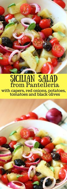 All Mediterranean flavors are packed in this Sicilian salad from Pantelleria, in Italian, insalata pantesca. I find this a perfect treat on a super sunny and hot day like the one we are having today in Brussels – 30 degrees!! When I sit on …