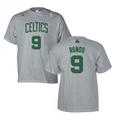 Rondo is the future of the Celtics so he has to be represented in the Celtics Dream Closet. You've got to have something other than authentic jerseys for days when you want to show off your Celtic Pride, but things might get a bit messy. This Rondo t-shirt is perfect for those occasions. #Celtics