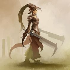 Sword Dancer by HBDesign.deviantart.com