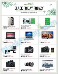 eBay Black Friday, Cyber Monday & Thanksgiving Frenzy Ad 2014 ★ Shop and ship with #borderlinx ★