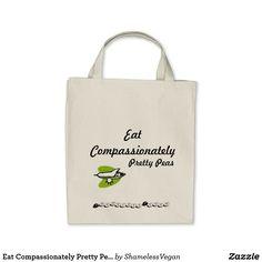 Eat Compassionately Pretty Peas