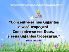 Frase de Max Lucado.