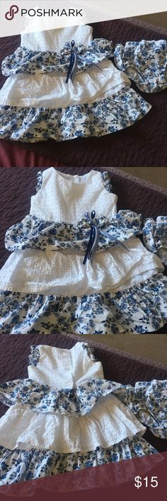 Toddler Girl Dress Good condition. Comes with diaper booty Dresses