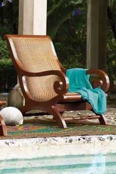 Lanai Lazy Chair from Soft Surroundings #softsurroundings #retreat #softsurroundingsretreat