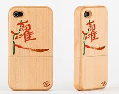 Kaohsiung iPhone wood case