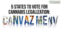 5 States to put recreational marijuana on the 2016 ballot