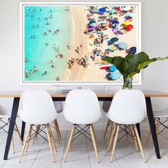 Bring summer into your home with this gorgeous framed print 'Capri' from Hoxton Art House. Search 'Capri' at http://ift.tt/1v9jaEU for details #art #wallart http://ift.tt/1SXnMrs
