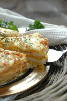 Creamy Potato and Butternut Cake ( vegetarian friendly )