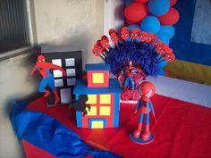 Artes da Pri e Cia.: Enfeites Homem Aranha