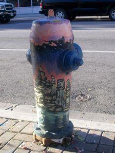 VIDA Statement Clutch - Fire Hydrant Clutch by VIDA udvpFc