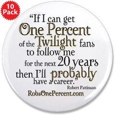 """RobsOnePercent Type2 3.5"""" Button (10 pack) > RobsOnePercent > Twilight Cougars Cafe ImPress"""