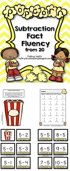 Great for Subtraction Fact Fluency