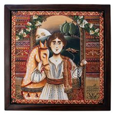 Acrylic Painting Techniques, Acrylic Painting Canvas, Painting On Wood, Canvas Paintings, Rusalka, Fairest Of Them All, Acrylic Frames, Prince Charming, Wooden Frames