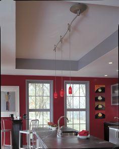 Designers Identify Top Kitchen Lighting Trends For Home Improvement Iluminação Pinterest Track Kitchens