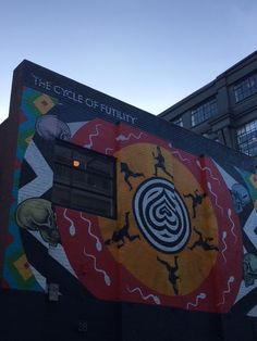 Shoreditch wall art December 2015