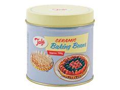 Tala 700g (approx) Retro Ceramic Pie Beads with Tin