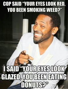 (Funny Jokes) one liner jokes cop jokes one liners Cop Jokes, Cops Humor, Funny Love, The Funny, Rodney King, One Liner Jokes, Mike Epps, Funny Quotes, Funny Memes