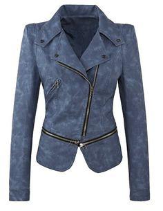 De 10+ beste afbeeldingen van PU leather Jackets | jas