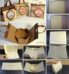 Tutorial: Mini Bag paper