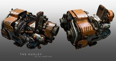 The Huxley (WIP), André Wee on ArtStation at https://www.artstation.com/artwork/the-huxley-wip