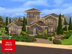 The Sims Resource: Villa Venus by Takdis • Sims 4 Downloads