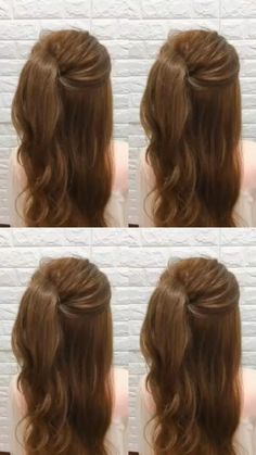 Easy Hairstyles For Long Hair, Ponytail Hairstyles, Model Hairstyles, Plus Size Hairstyles, Office Hairstyles, Fashion Hairstyles, Fast Hairstyles, Casual Hairstyles, Updos