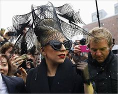 Lady Gaga in Prabal Gurung.