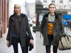 One Year Later – Same Girl, Same Coat, Totally Different Look « The Sartorialist