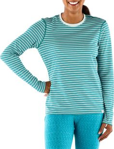 Patagonia Capilene 3 Midweight Long Underwear Crew Top - Women's - REI.com Warm long sleeve shirt for layering