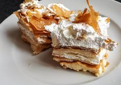 No Salt Recipes, Cooking Recipes, Sweet Desserts, Dessert Recipes, Spanakopita, Food And Drink, Mint, Sweets, Cookies