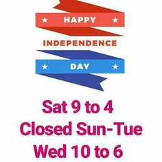 Independence Day hours. #tmmAL #OneAndOnly #themakersmarket #Tuscaloosa #RollTide #Bama