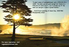 Monday Motivation from David Duval about Jason Day, 2015 PGA Champion #golf