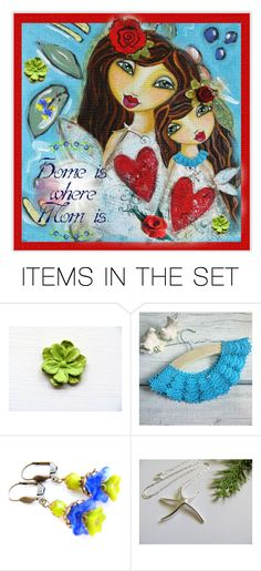 """My Home is You  ❤️"" by rosa-shawls ❤ liked on Polyvore featuring art"