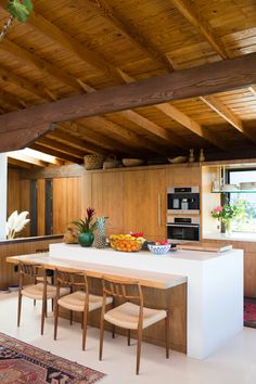 Lela Becker lives in the ultimate Los Angeles canyon home. It's a bit hidden, incredibly cozy, and has beautiful views of the trees and natural landscape.