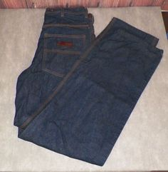 Five Brother Mens 7 Pocket Logger Jeans Size 34W × 36L 100% Cotton NWOT #FiveBrother #Carpenter