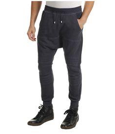Balmain Low Crotch Sweatpant Navy - Zappos Couture
