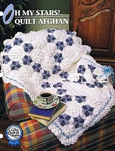 Oh My Stars  Annie's Attic  Crochet Afghan Pattern Instructions