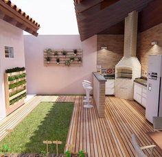 Exterior home modern patio 25 trendy ideas Modern Backyard, Backyard Garden Design, Diy Garden Decor, Diy Terrasse, Outdoor Living, Outdoor Decor, Home Decor Furniture, Modern House Design, Home Design